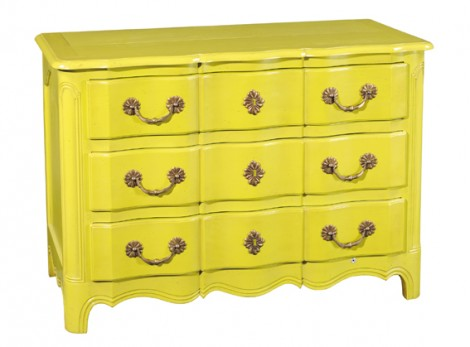 GRANGE Provencal Bedroom range 2660M 3 DRAWER LOUIS XIV CHEST