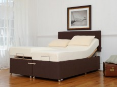 TEMPUR Ardennes Deep Adjustable & Massage Divan with Deluxe Cloud 22 Mattress