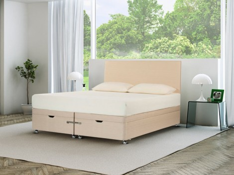 TEMPUR Ardennes Divan Ottoman with Original 21 Mattress