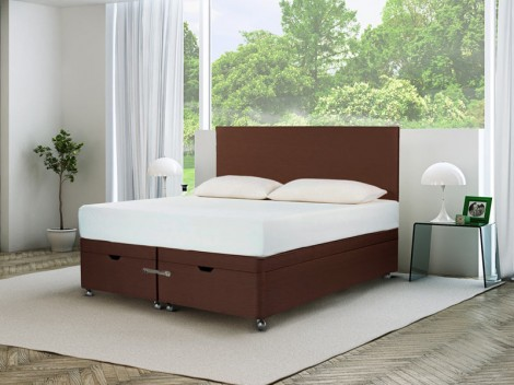 TEMPUR Ardennes Divan Ottoman with Original Deluxe 22 Mattress