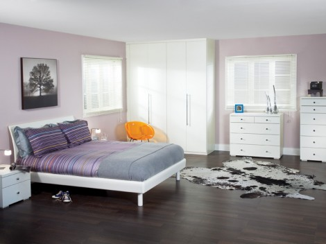 WELLS Urban Bedroom fitted or free-standing range