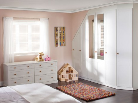 WELLS Shaker Bedroom fitted or free-standing range