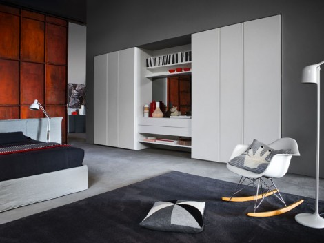 WELLS Modern Bedroom fitted or free-standing Range