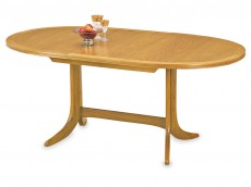 NATHAN Classic 2114 Oval Pedestal Dining Table