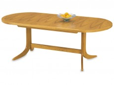 NATHAN Classic 2104 Large Oval Pedestal Dining Table