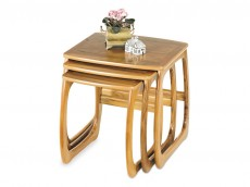 NATHAN Classic 5634 Burlington Nest of 3 Tables