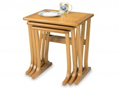 NATHAN Classic 5654 Nest of 3 Tables
