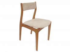 NATHAN Shades Teak or Oak range 3155 Ladder Back Dining Chair