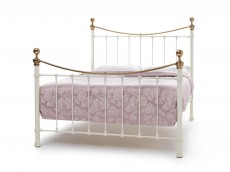 WELLS Ivory & Brass Bedstead no. 3