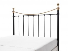 WELLS Black & Brass Headboard no.9
