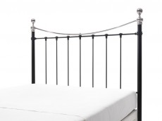 WELLS Black & Nickel Headboard no. 10