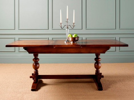 Old Charm  OC2801 Lambourn  6ft extending dining table