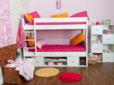 STOMPA Spectrum Detachable Multi-bunk bed with storage