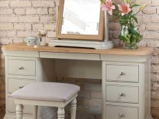 WELLS Huntingdon Bedroom range DOUBLE DRESSING TABLE