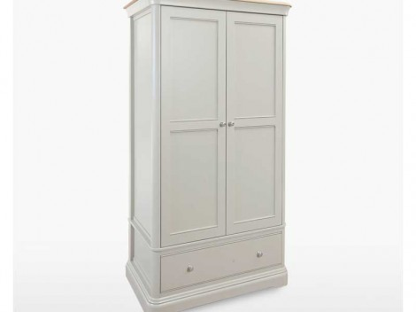 WELLS Huntingdon Bedroom range GENTLEMEN'S WARDROBE