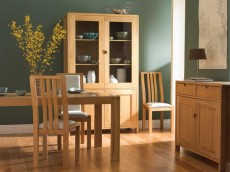 ERCOL Bosco Dining Range 1393 DISPLAY CABINET