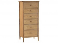 ERCOL Teramo Bedroom Range 2685 TALL 6 DRAWER CHEST