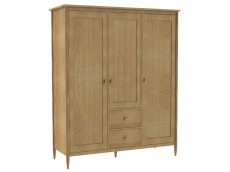 ERCOL Teramo Bedroom Range 2687 3 DOOR WARDROBE