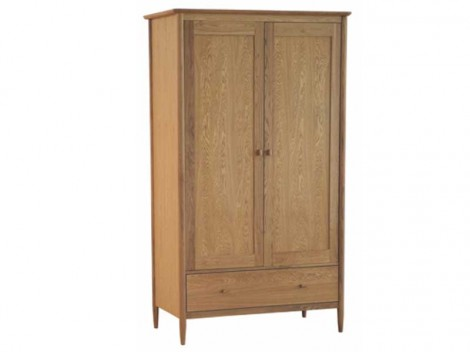 ERCOL Teramo Bedroom Range 2686 2 DOOR WARDROBE