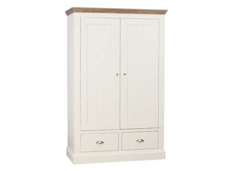 WELLS ELY Bedroom range double pedestal dressing table