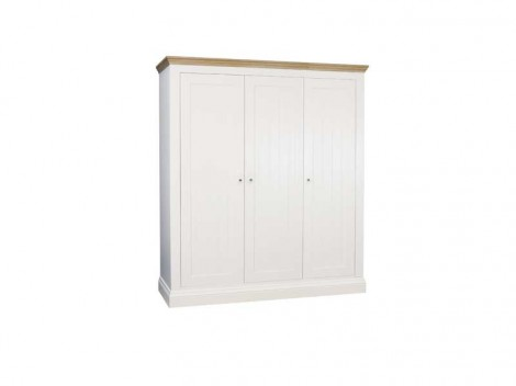 WELLS ELY Bedroom range triple all hanging wardrobe