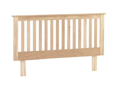 Oak Bedroom range fluted headboard