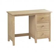 Oak Bedroom range single pedestal dressing table