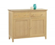 Oak Dining & occasional Range Double Drawer sideboard