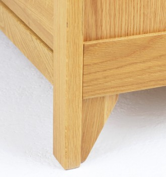 Oak Dining & occasional Range Long Double Drawer sideboard