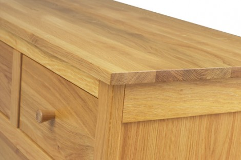 Oak Dining & occasional Range Triple Drawer sideboard