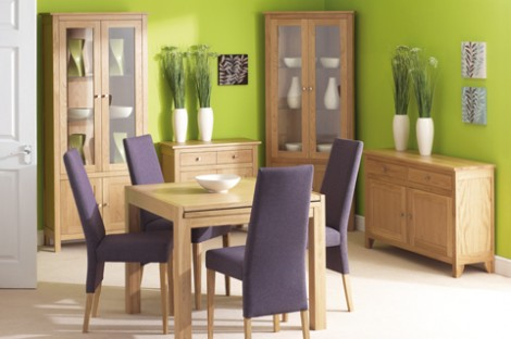 Oak Dining & occasional Range 2 Drawer  2 Door sideboard