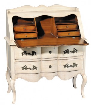 GRANGE Pompadour 6- Drawer Secretaire