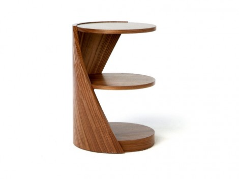 TOM SCHNEIDER DNA Shelves & Tables range single strand Lamp table